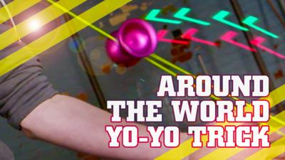 How To Be Epic @ Everything - How to do an 'Around the World' yo-yo trick