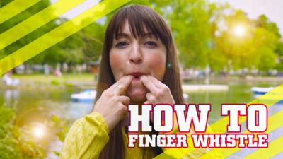 How To Be Epic @ Everything - How to whistle with your fingers