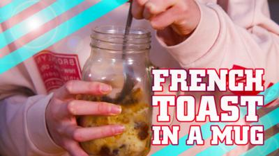How To Be Epic @ Everything - How to make french toast in a mug