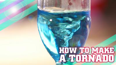 How To Be Epic @ Everything - How to make a tornado in a bottle