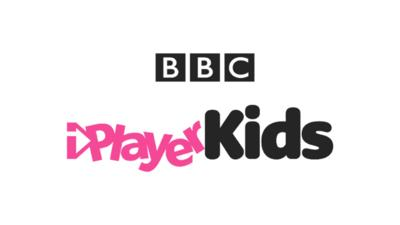 BBC iPlayer Kids logo.