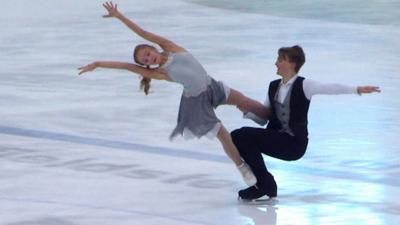Ice Stars - Josh and Lucy's incredible performance