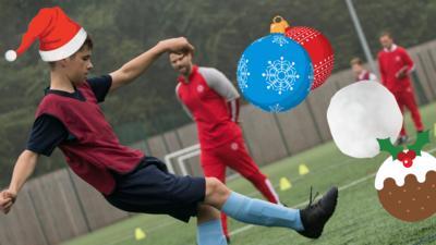 Jamie Johnson - Quiz: Spot the Festive Football