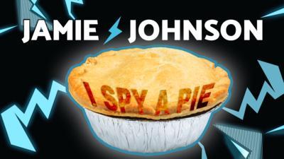 Jamie Johnson - Race the Clock: I Spy A Pie!