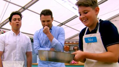 Junior Bake Off - Ben takes on pancakes