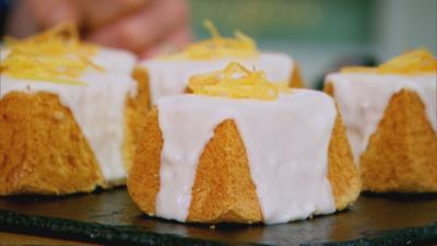 Junior Bake Off - Recipe: Mini Chiffon Grapefruit Cakes
