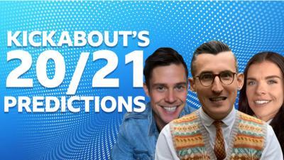 John, Ben and Kenzie - Kickabout presenters.