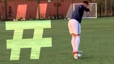 Match of the Day Kickabout - Phenomenal First Touches: #Hashtagged