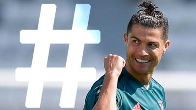 Match of the Day Kickabout - Ronaldo's Basketball Trick: #Hashtagged