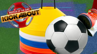 Match of the Day Kickabout - Kickabout skills in your home & garden
