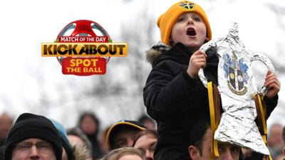 MOTD Kickabout - Quiz: Spot the Ball - FA Cup fourth round