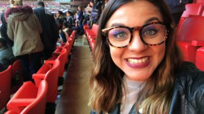 MOTD Kickabout - Lauren at the Women's FA Cup 2017