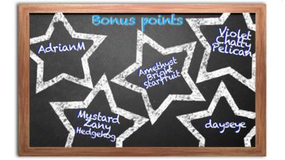 A chalkboard of stars.