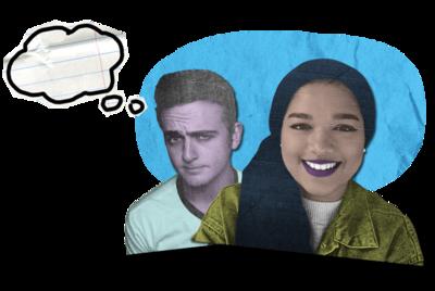 Matt and Saima