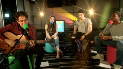 Lost & Found Music Studios - Lost & Found cover the song 'Valerie'