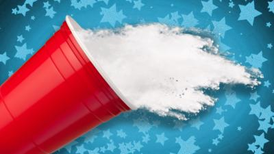 Ultimate Brain - Create your own snow in a cup