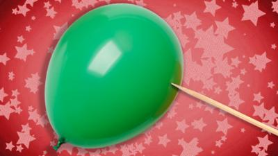 Ultimate Brain - Poke a balloon without popping it