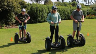 Matilda and the Ramsay Bunch - Ramsay Segway Race