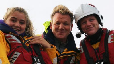 Matilda and the Ramsay Bunch - Lifeboat Ramsays to the rescue