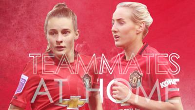 Match of the Day Kickabout - Manchester United stars: Teammates at Home