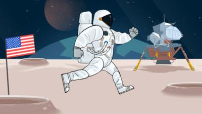 CBBC - Quick Play: The Man on the Moon game