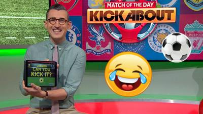 MOTD Kickabout - Beat Ben Shires MOTD: Can You Kick It? score