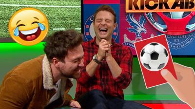MOTD Kickabout - Sam & Mark play Can You Kick It? game