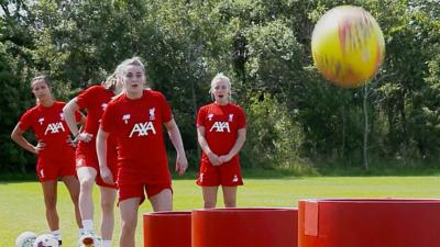 Match of the Day Kickabout - Liverpool FC Women: Hat Trick Challenge