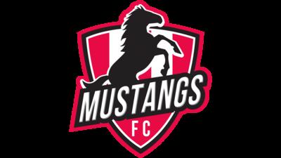 The Mustangs FC logo