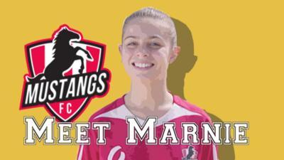 Mustangs FC - Meet Mustangs FC's Marnie