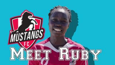 Mustangs FC - Meet Mustangs FC's Ruby
