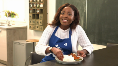 Blue Peter - Cooking with Mwaksy - Nshima
