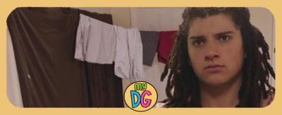 A boy, Tyler from The Dumping Ground, is looking upset and hurt.
