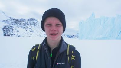 My Life  - Jamie's epic ice trekking challenge