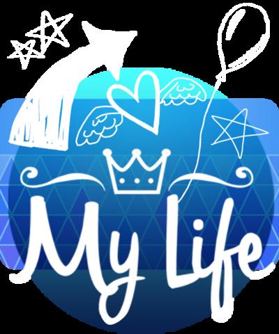 My Life logo.