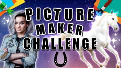 CBBC - Picture Maker Challenge - Mystical horse