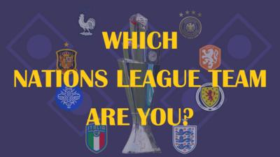 Match of the Day Kickabout - Which Nations League team are you?