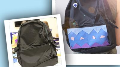 School Survival Guide - Customise your old school bag