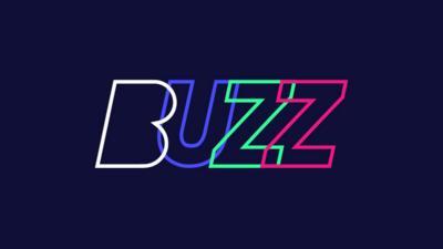 Logo of Buzz app spelling B U Z Z.