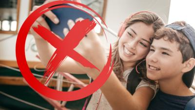 Newsround - Quiz: Where are selfies banned?