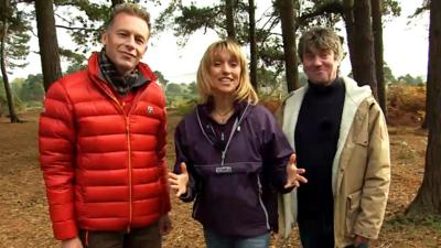 Autumnwatch on CBBC - You got 'On the Hop' with Autumnwatch!