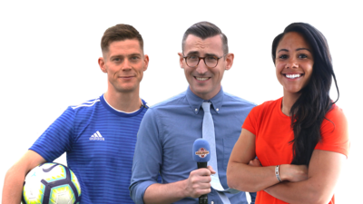 Match of the Day Kickabout presenters
