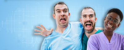 Doctors Chris, Xand and Ronx