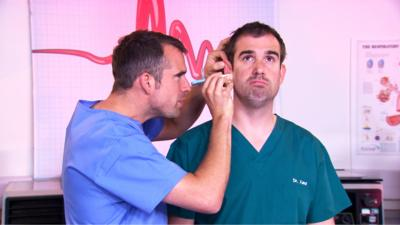 Operation Ouch! - Operation Ouch Quick Quiz: What's in an ear?
