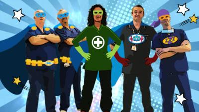 Operation Ouch! - Who are the Hospital Heroes?