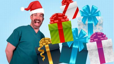 Operation Ouch! - Quiz: Xand's Xmas X-Ray