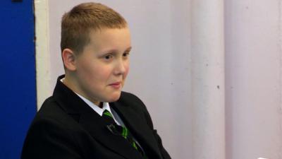 Our School - Josh brings a fart machine to school