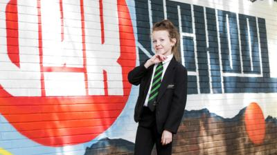 Our School - Libby shows off her kickboxing skills