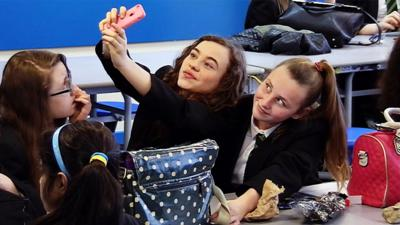 Our School - Meet Year 7's 'Queen of Selfies'