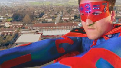 Our School - A superhero on the loose!
